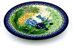 Polish Pottery 9-inch Pasta Bowl | Boleslawiec Stoneware | Polmedia H3019C