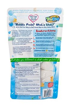 TruKid Eczema Care Bubble Podz - 2 Pack (Formerly known as Bath Blasts)