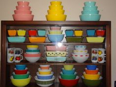 Image result for thanksgiving pyrex display