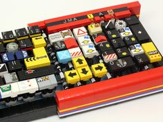 The Quirkiest QWERTY Keyboard Ever Is Made of Lego | Wired Design | Wired.com