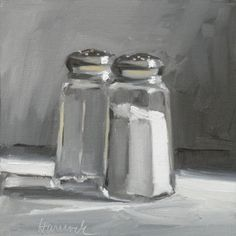 gretchen hancock--two shakers on gray