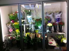 Refrigerated Floral Display