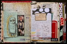 Travel Journal Page by Asphyxia