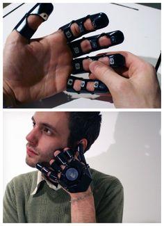Glove One mobile phone