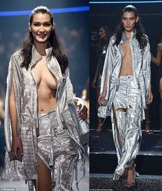 Blog de la Tele: Bella Hadid muestra todo en desfile de moda amfAR, Francia