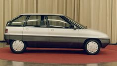 OG | Austin Metro replacement - Project AR6 | Right view with 5 doors. Mock-up from 1982 designed by Roy Axe