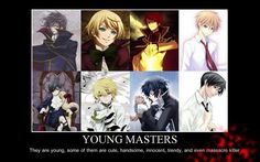 Young Masters <~~ YES! Ciel! Wait...are there any animes about a Young Mistress with dead parents?