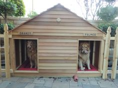 29 best wood dog house images in 2019 wooden dog house big dogs rh pinterest com