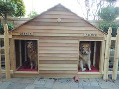 Goliath Cedar Duplex Dog House