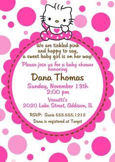 Invites · Zebra Birthday PartiesBirthday Party InvitationsBaby Shower  InvitationsHello Kitty ...