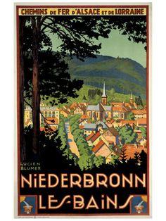 Niederbronn-les-bains! The town my grandma lives in :)