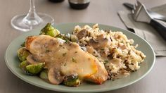 Chicken Gloria Casserole. Make comfort food truly glorious with a chicken dish that's sure to become one of your go-to favorites. A splash of sherry brightens the creamy flavors for an extra dash of elegance.