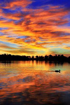 Mirror Lake, Bavaria, Germany