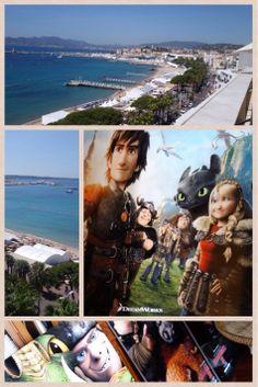 Stiamo intervistando il cast di #DragonTrainer2! Che ne pensate della Location? #Cannes2014
