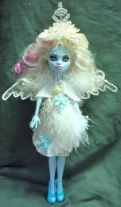 winter ooak monster high doll handmade custom doll repaint | Dolls & Bears, Dolls, By Brand, Company, Character | eBay!