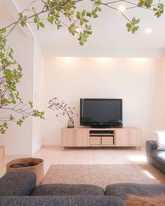 Dream Apartment, Japanese House, Light Colors, Shag Rug, Decoration, Sweet Home, Minimalist, Lounge, Room Decor