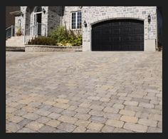 I think this is a really cool paved driveway. Maybe someday, I'll be able to get something like this done to my house. My wife has been wanting me to do something to our driveway for a while. It's cracked and it doesn't look very good at all.