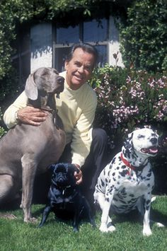 Awe! Dick Clark had a Weimaraner. Will miss you Mr. Dick Clark.