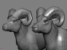 Bighorn Sheep Animals 3D Models    http://www.fallingpixel.com/bighorn-sheep-3d-model/11149#