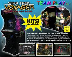 Star Trek Voyager arcade game
