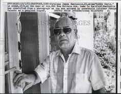 1963 Press Photo Hartford, Conn Giralomo James Santuccio alias Bobby Doyle