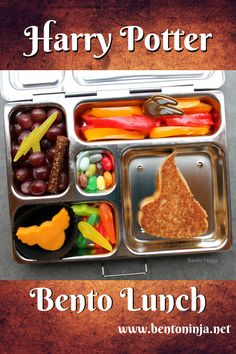 Harry potter food harry potter bento lunch for kids with simple harry potter the bento box forumfinder Images