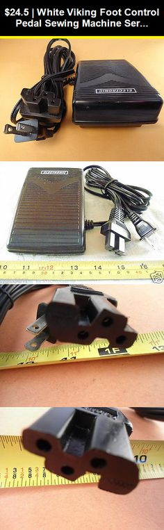 Sew-link Foot Control Pedal #87532 for Babylock Viking Sewing Machines Juki Singer