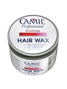Ceara pentru par Extra Strong Camil Professional - 100 ml - Pentru o modelare usoara si rapida a parului, fara sa-l incarce. Suvitele pot fi bine stapanite si coafura bine definita, parul pastrandu-si in acelasi timp luciul si textura. Hair Wax, Professional Hairstyles, Mousse, Fragrance, Sparkle