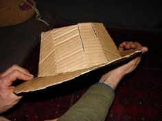 How to Make a Fedora (Indiana Jones'): 8 Steps (with Pictures) Form Drawing, Felt Hat, Indiana Jones, Cowboy Hats, Baseball Hats, How To Make, Pictures, Gangsters, French Films