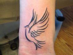 Small Tattoo Ideas For Men Dove