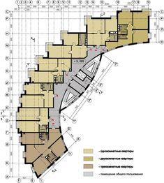 многоквартирный жилой дом планы - Поиск в Google: