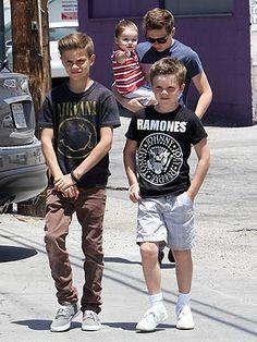 Beckham children