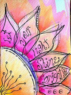 Love this! Shine on, peeps!