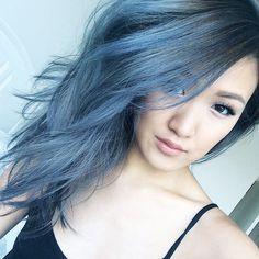 weylie's blue hair | from her instagram
