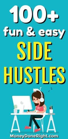 Everybody needs a good side hustle they can start from home. So in this article, I have listed the best side hustles you can do from home. You will learn how to make money online, how to sell your stuff for extra cash, how to make money doing surveys, a Money Now, Earn Money From Home, Make Money Fast, Earn Money Online, Online Jobs, Online Income, Online Careers, Make Money Doing Surveys, Making Extra Cash