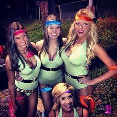 Halloween Costume Ideas — Sexy Teenage Mutant Ninja Turtles Costumes