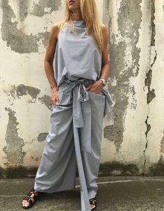 Copenhagen Street Style, City Fashion, City Style, Boho Chic, Summer, Pants, Trouser Pants, Summer Time, Women's Pants