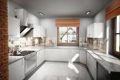 Wizualizacja Mój Dom Lucjan CE Kitchen Cabinets, Interiors, Home Decor, Ideal Home, Decoration Home, Room Decor, Kitchen Cupboards, Interieur, Interior Design