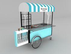 Cocktail movable bar unit / concept on Behance