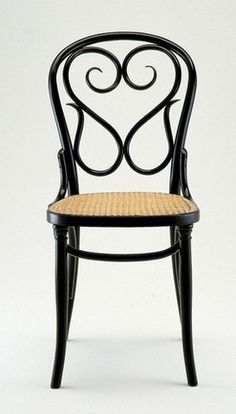 Ah, the beautiful serpentine back of the Michael Thonet Designed Cafe Daum Chair A18/56.