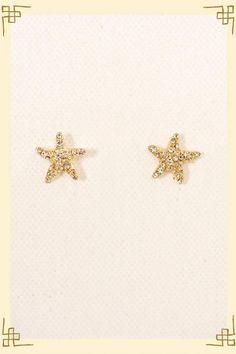 Starfish Studs--- DEFFINATLY WANT