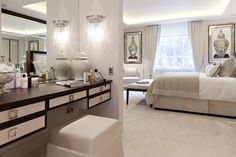 Luxury hotel standard apartment - bedroom interiors. © Taylor Howes Designs  Lovely