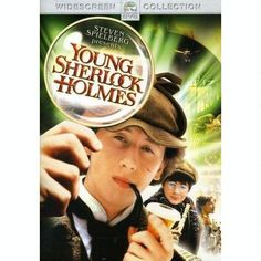 Sherlock Holmes: A great detective relies on perception, intelligence, and imagination. Lestrade: [amused] Where'd you get that rubbish from? Sherlock Holmes: It's framed on the wall behind you. Steampunk Movies, Adventure Movies, Movies, Christian Films, Movie Tv, I Movie, Holmes Movie, Young Sherlock Holmes, Family Movie Night