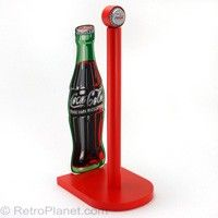 Coca Cola Wood Paper Towel Holder #coke #decor  http://www.retroplanet.com/PROD/31065
