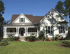 [ Country House Plans And Designs Builderhouseplans Porches Style With Hanley Wood Home ] - Best Free Home Design Idea & Inspiration Style At Home, Country Style House Plans, Cottage House Plans, Craftsman House Plans, Cottage Homes, House Floor Plans, Farmhouse Style, Craftsman Farmhouse, Craftsman Style