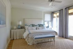 Coastal Chic bedroom | Design by Munger Interiors