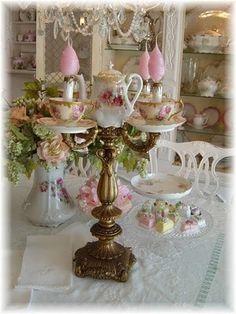 Hoge thee met klasse.