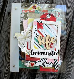 mini album for Clear Scraps using the Build It Your Way Binder with the Acrylic Tabbed Pages Mini Albums Scrap, Mini Scrapbook Albums, Scrapbook Layouts, Book Journal, Journal Ideas, Journals, Diy Paper, Paper Crafts, Paper Lace Doilies