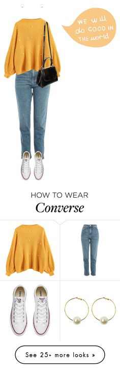 """Do Good and Be Good"" by madelinerod6 on Polyvore featuring Topshop, Fendi, StyleNanda and Converse"