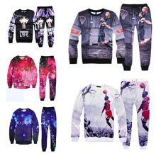 Mode Für Männer hoodies sweatshirts für Jordan druck 3d Sweatshirt hip hop hoodies männer kleidungssatz hoody + pants 2 stück(China (Mainland))